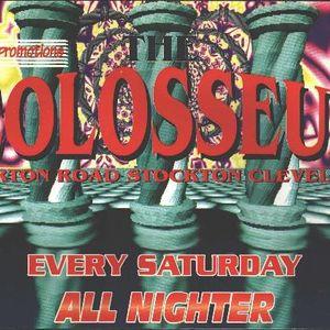 the colosseum sat 15th june 1996 dj.crossfade mc.techno-t & stompin