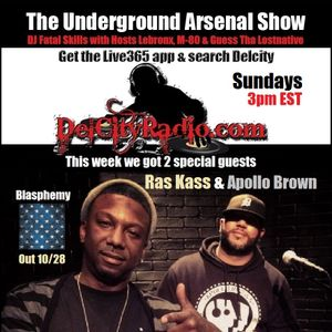 The Underground Arsenal Show with Special Guests Ras Kass & Apollo Brown