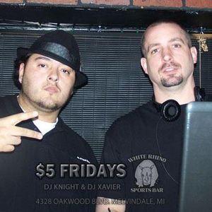 DJ Knight's rap mix exert from the DJ Knight/DJ Xavier Promo Mix CD (April 2012)