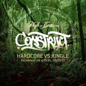 Construct - Hardcore Vs Jungle - Recorded Live 08 01 13
