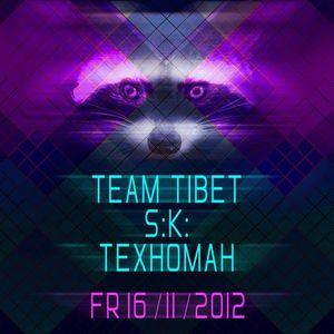 TEXHOMAH Live @ YNOT Techno Session in Düsseldorf 16.11.2012