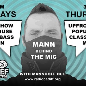 MannHoff Dee's mixed dance show. Tue 8th June 21. A-Z of DNB