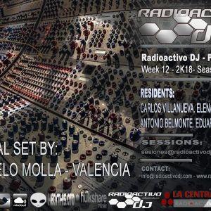 RADIOACTIVO DJ 12-2018 BY CARLOS VILLANUEVA