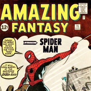 13 - Amazing Fantasy #15 - The First Appearance Of Spider - Man
