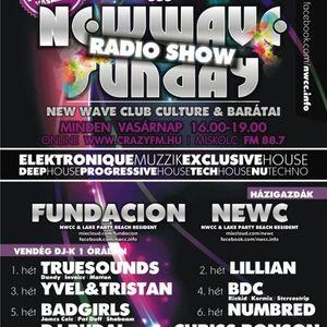 New wave sunday radio show 025 - fundacion