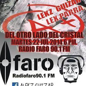 Umbral entrevista a Alekz Guizar y Alex Parra programa transmitido el día 22 de Julio 2014 por Radio