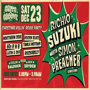 Grits and Groove Christmas Rollin' Revue Party (Cheesy Crimble set)