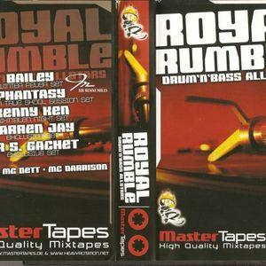 Bailey & MC Darrison live @ Royal Rumble Pt1