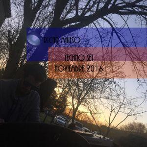 Ricar Manso TECHNO SET NOVIEMBRE 2016