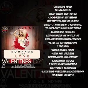 DJJUNKY - ROMANCE AND LOVE (VALENTINES DAY) VOL.5 MIXTAPE 2K17