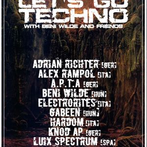 Let's Go Techno With Beni Wilde & Friends | Episode 8 : GabeeN