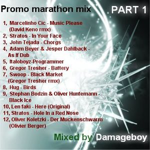 Damageboy - Promo marathon mix (part1)