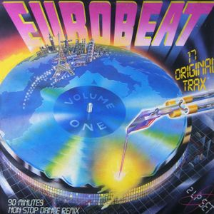 EUROBEAT - Volume 1 (90 Minute Non-Stop Dance Remix) (2LP Set) 1986 Various Artists 80s
