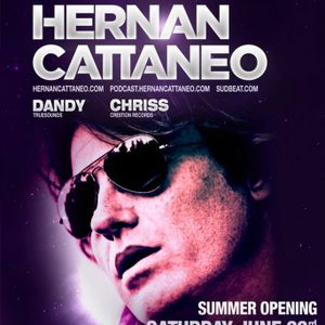 Chriss Ronson - Live @ Flört Club Siófok Warm Up Summer Opening With Hernan Cattaneo 2012.06.23.