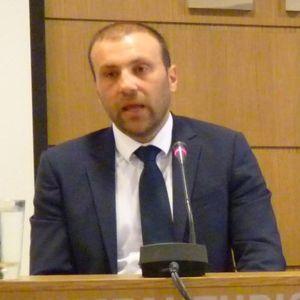 Κ.Χατζημιχαήλ-Πρόεδρος Εμπορικού Συλλόγου Αλεξανδρούπολης