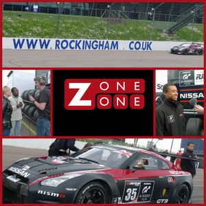 Matthew Layton - ZoneOneRadio - GT Academy Winner Jann Mardenborough at Rockingham