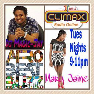 DJ MAGIC-JAY & MARY JAINE - AFROBEAT BUZZ SHOW  ep8