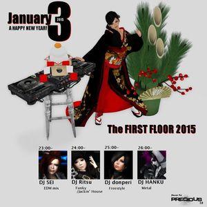 DancePub Precious New year DJ Event 2015/1/3 LIVE set DJ-Sei