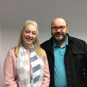 Breakfast with Liz and Marc 5 Feb 2018 (guest Lizzie Wardley) (Wardley's Gifts)