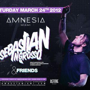 Sebastian Ingrosso - Live @ Refune Records Party Amnesia Miami (USA)  2012.03.24.