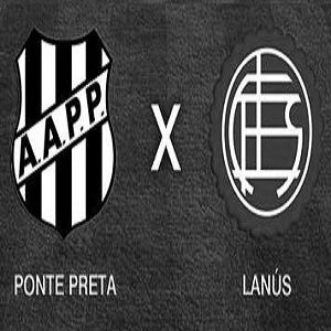 Ponte Preta x Lanús - Final da  Copa Sul-Americana 2013 (Primeiro Tempo)