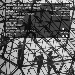 Adam X @ Dynamic Maximum Tension - The Boombox Westmoreland - 12.05.2009