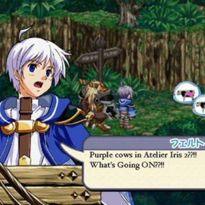 Puprle Cow Plays Atelier Iris 2