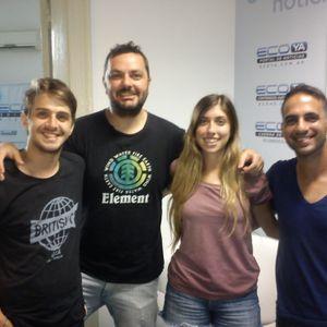 VELEZ RADIO Con Carlos Martino,Diego Guitian,Tomas Amerio Y Zoe Bonillo 22-7-2016