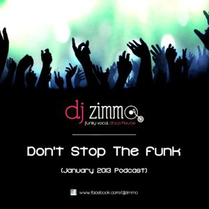 Don't Stop The Funk (DJ Zimmo Mix)