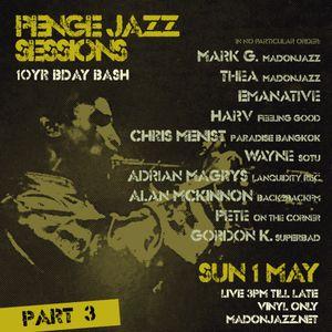 Penge Jazz Sessions May 2016 - Pt 3: DJ Harv / Alan McKinnon / Chris Menist