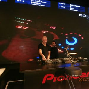 Disco demo for Pioneer CDJ 2000 Nexus, Mixmove Paris, march 2013.