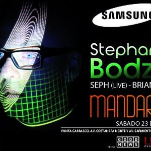Stephan Bodzin @ Samsung Night, Mandarine (23-6-2012) Part 1