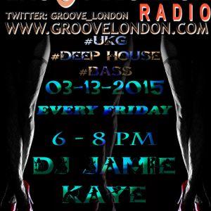 GrooveLondon Radio Show - 03-13-2015