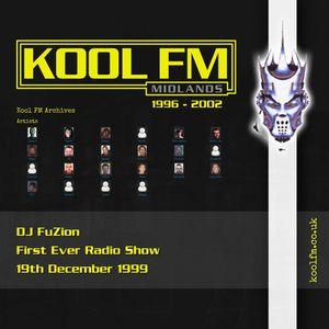 DJ FuZion (First ever radio show) - 19th December 1999