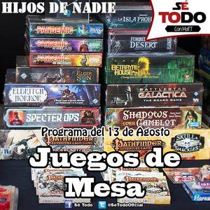 Sé Todo con MaTT #95 - 2015/08/13 - Hablemos de Juegos de Mesa