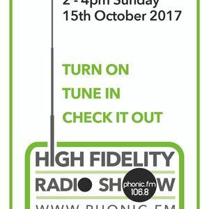 HiFidelity Radioshow 15.10.2017