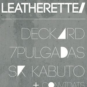 Cold Leatherette@Switch Bar 13 Oct'13 mixed by Sr. Kabuto & Deckard #1