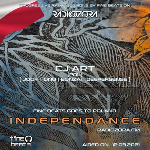 CJ Art - Independance 067 Exclusive Guest Mix on RadiOzora (March 2021)