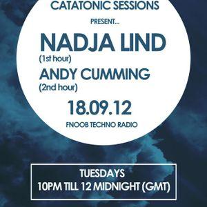 Catatonic Sessions 0015: Nadja Lind & Andy Cumming
