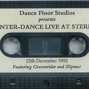 GROOVERIDER & SLIPMATT - STERNS 12.12.92