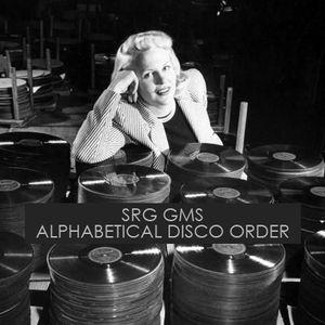 SRG GMS - Alphabetical Disco Order