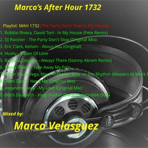 The Party Don't Stop In My House (MAH-1732)(Airplay 30-12-2017)(Mixed by Marco Velasguez)