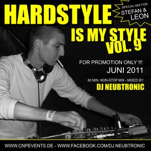 DJ Neubtronic - Hardstyle Is My Style Vol.9 - Juni 2011