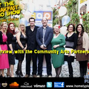 "Not the Breakfast Radio Show ""Community Arts Partnership"""