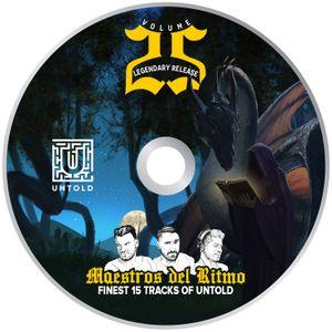 Maestros del Ritmo Vol 25 - Finest 15 tracks of UNTOLD 2017 - Edition