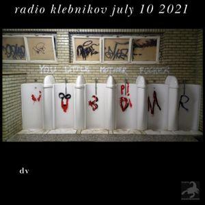 RADIO KLEBNIKOV Uitzending 10/07/2021 Integraal