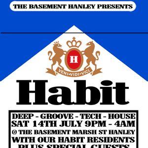 Habit mix July 2012 (Rob Thack)