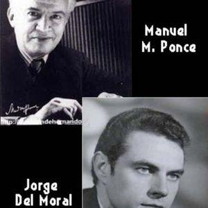 Homenaje a Jorge del Moral y Manuel M. Ponce