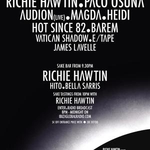 Hot Since 82 - Live @ Enter Nº3, Terrace, Space Ibiza, Espanha (18.07.2013)
