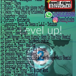 LEVEL UP MIX BY DJBAZZLY